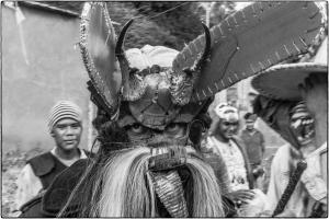 La danza de los diablos forma parte de un sincretismo cultural.